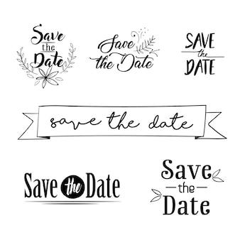 Speichern sie unser datum
