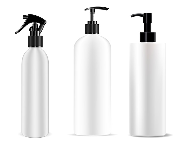Spenderflasche pumpspray-set. kosmetik