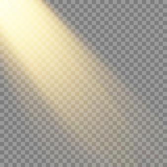 Speziallinse für transparentes sonnenlicht