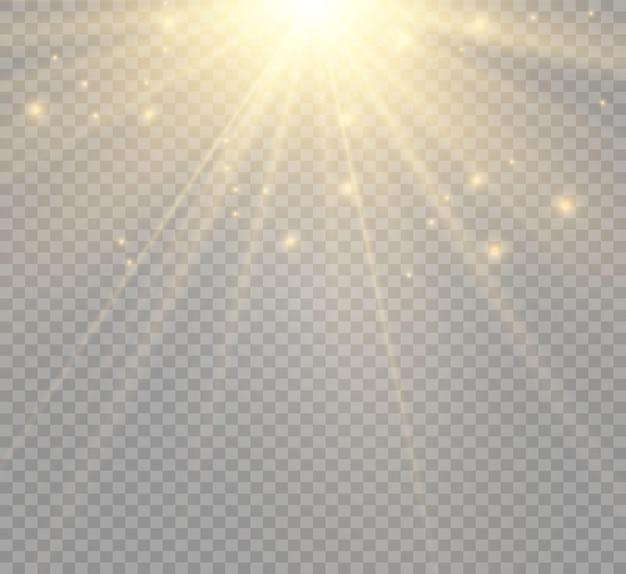 Spezieller linsenblitzlichteffekt