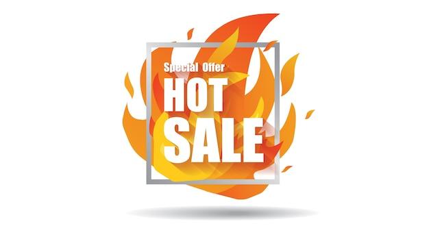 Spezieller preisangebotsverkauf des heißen verkaufsfeuers beschriftet fahnenschablonen