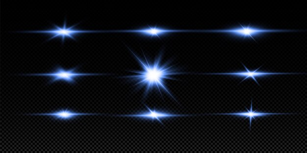 Spezielles linseneffekt-lichteffekt-set