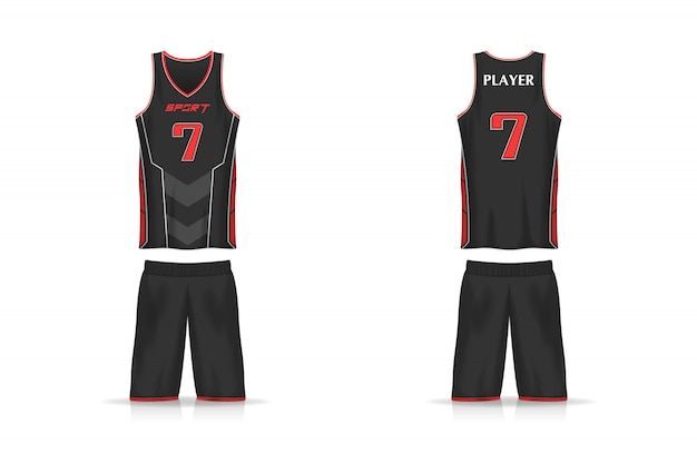 Spezifikation basketball trikot