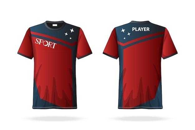 Spezifikation fußball t-shirt rundhalsausschnitt