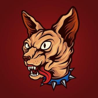 Sphinx cat punk