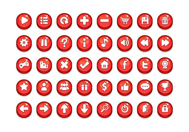 Spiel button vorlagen