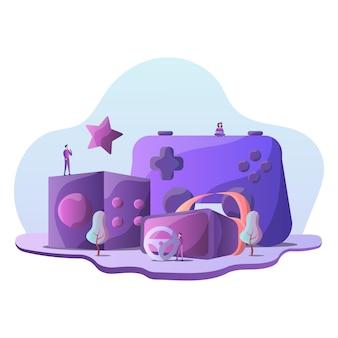 Spiel illustration