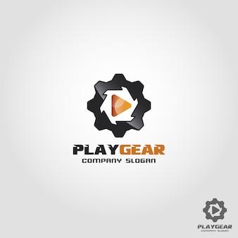 Spielausrüstung logo vorlage