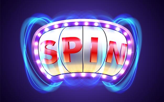 Spielautomat gewinnt den jackpot big win casino-konzept