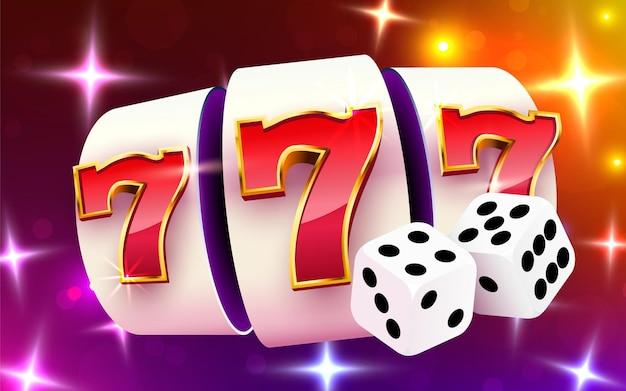 Spielautomat gewinnt den jackpot. spielautomaten und würfel casino 777 großer gewinn.