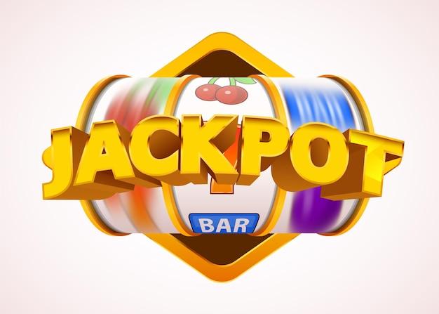 Spielautomatenmünzen gewinnen den jackpot. 777 casino mit großen gewinnen