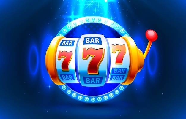 Spielautomatenmünzen gewinnen die jackpot-illustration