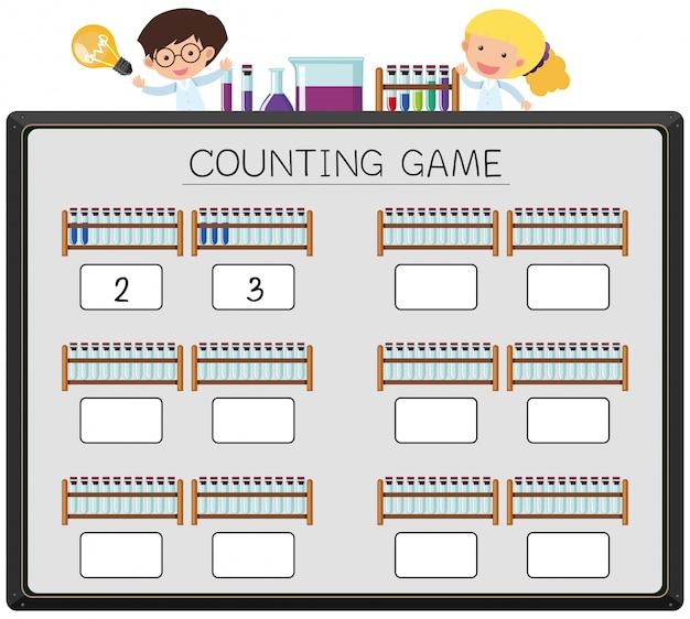 Spielbecherkonzept zählen
