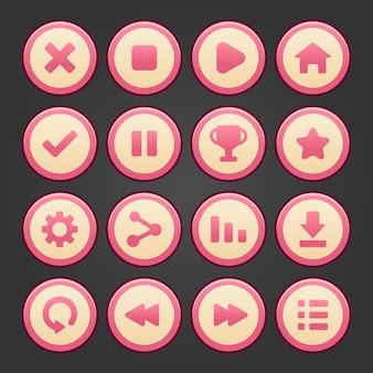 Spielbenutzeroberfläche mit levelauswahlbildschirm, einschließlich sternen, pfeilen, masterkeys und strat botton