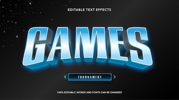Spiele bearbeitbare texteffekte