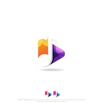Spielen sie chat logo vector design