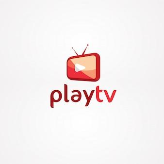 Spielen sie das tv-logo