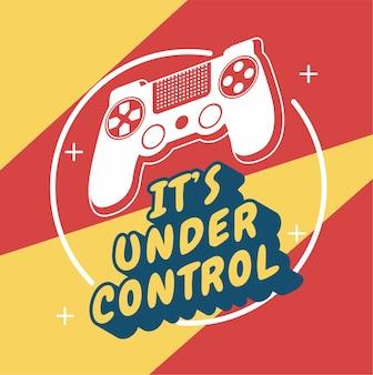 Spieler ist unter kontrolle