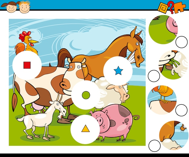 Spielfiguren spiel cartoon