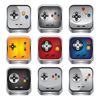 Spielkonsolenknopf