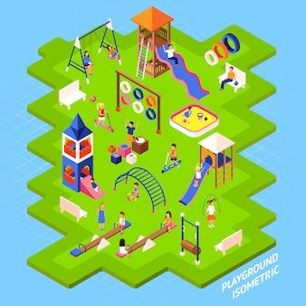 Spielplatz park poster