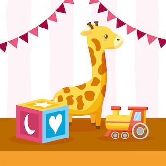 Spielzeug für die babyparty