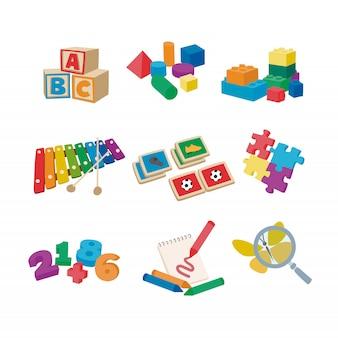Spielzeug für die tagespflege