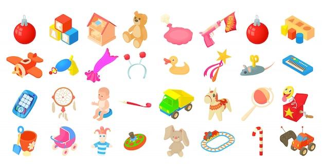 Spielzeug-icon-set
