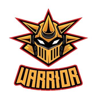 Spike robot warrior esport logo