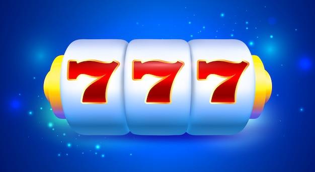 Spin und win slot machine mit sevens