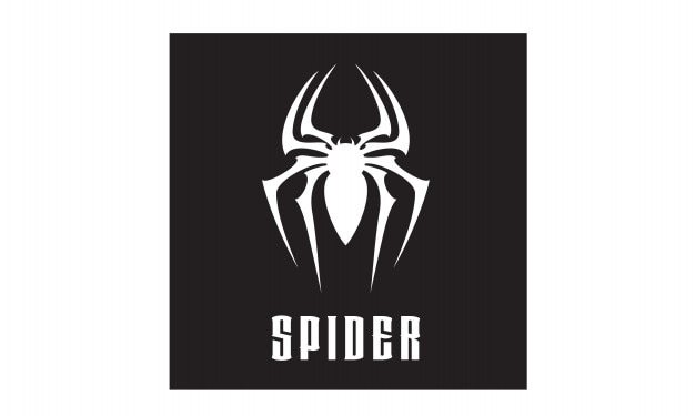 Spinne symbol logo design