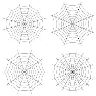 Spinnennetz gotischen stil.