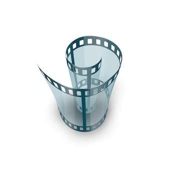Spirale des filmstreifens