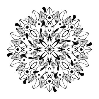 Spirituelles mandala-muster