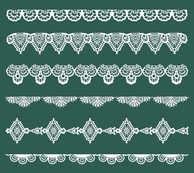 Spitzenbänder - für design und sammelalbum