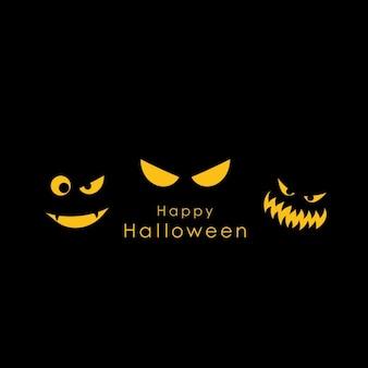 Spooky halloween-hintergrund