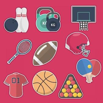 Sport-aufkleber