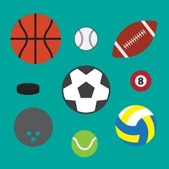 Sport ball sammlung