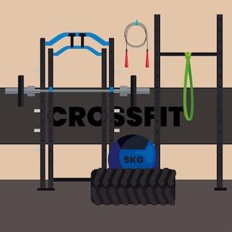 Sport crossfit-szene