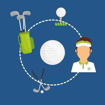 Sport design illustration