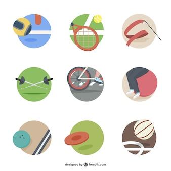 Sport elemente symbole