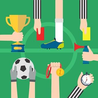 Sport entwirft kollektion