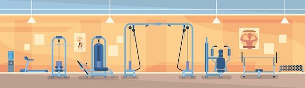 Sport gym interior training ausrüstung