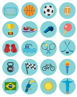 Sport-ikonen-sammlung