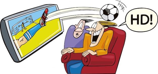 Sport im hochauflösenden fernsehen