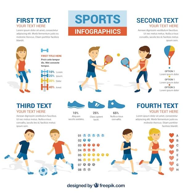Sport infografik