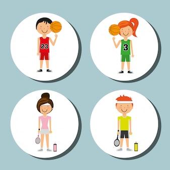 Sport lebensstil