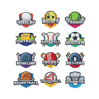 Sport logo illustration vektor