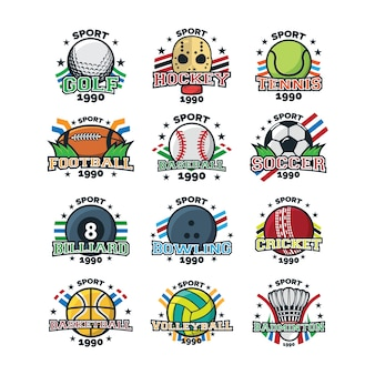 Sport logo illustration vektor