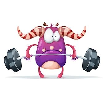 Sport monster charaktere